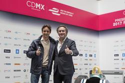 أليخاندرو عجاج، الرئيس التنفيذي للفورمولا إي وإستيبان غوتيريز