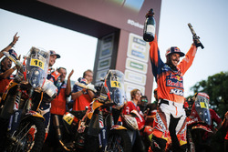Winner Sam Sunderland, Red Bull KTM Factory Racing