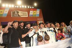 #502 Team De Rooy, IVECO: Федеріко Вільягра, Адріан Якопіні, Рікардо Торлаші