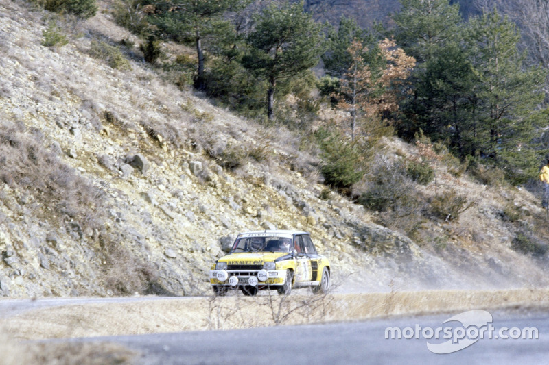 Jean Ragnotti, Jean-Marc Andrié, Renault 5 Turbo