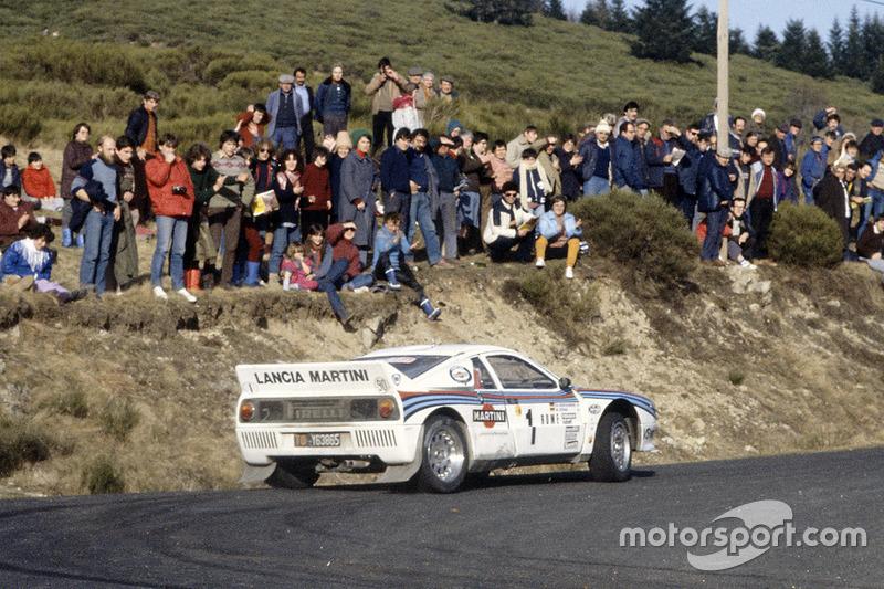 Walter Röhrl, Christian Geistdörfer, Lancia Rally 037