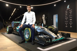 George Russell Mercedes junior programme