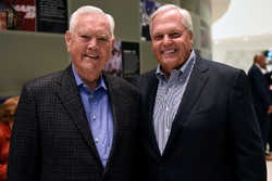 Rick Hendrick mit Junior Johnson