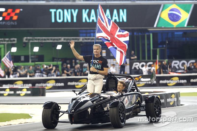 David Coulthard et Jenson Button, Team Great Britain