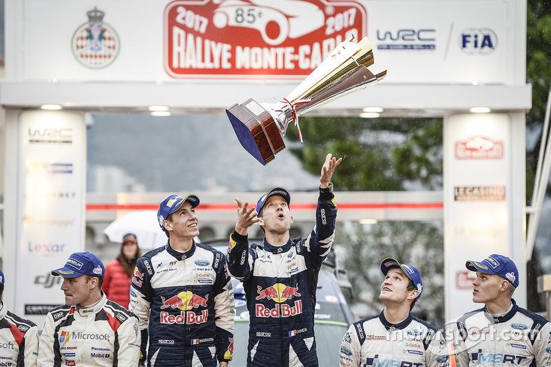 10. Los ganadores Sébastien Ogier y Julien Ingrassia, M-Sport