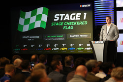 NASCAR Executive Vice President y director de desarrollo de carreras de Steve o ' Donnell