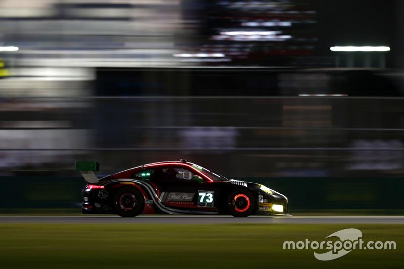 #73 Park Place Motorsports Porsche GT3 R: Patrick Lindsey, Jörg Bergmeister, Matthew McMurry, Norbert Siedler