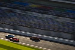 #31 Bodymotion Racing, Porsche Cayman: Drake Kemper, Devin Jones; #18 RS1, Porsche Cayman: Aurora Straus, Connor Bloum, Nick Longhi; #56 Murillo Racing, Porsche Cayman: Jeff Mosing, Eric Foss
