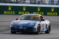 #6 Rebel Rock Racing Porsche Cayman: Trevor Knight, Shane Lewis