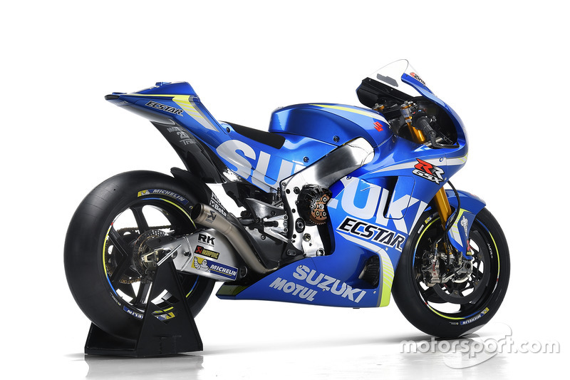 Prototipo de la Suzuki Ecstar MotoGP GSX-RR de 2017
