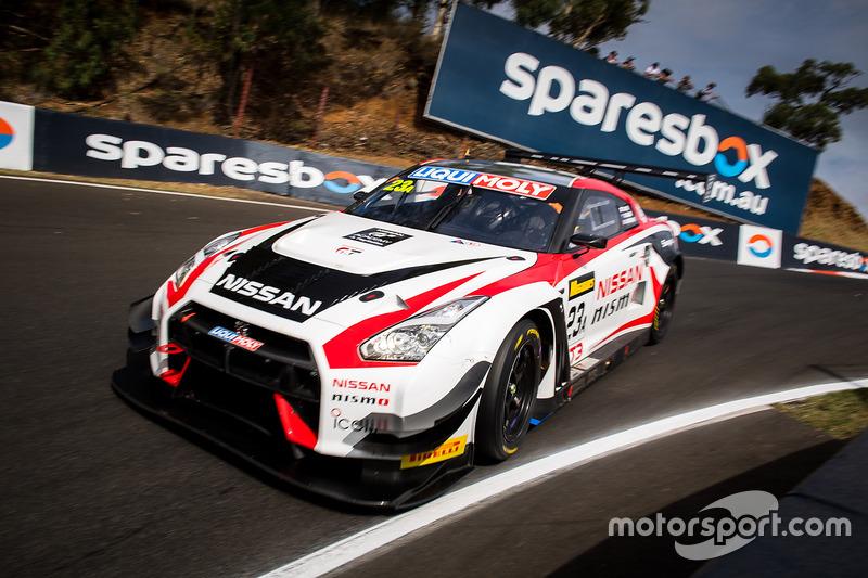 5. #23 Nissan Motorsport, Nissan GT-R Nismo GT3: Katsumasa Chiyo, Alex Buncombe, Michael Caruso