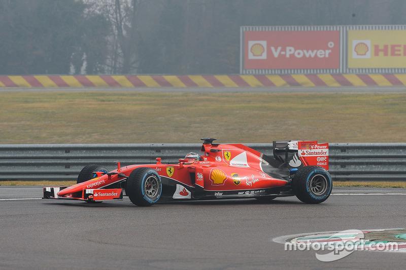 Antonio Giovinazzi, Ferrari SF15-T