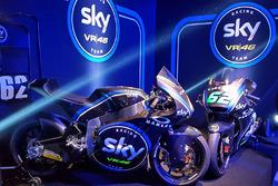 Moto2-Bikes von Francesco Bagnaia und Stefano Manzi