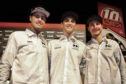 Luca Marini, Lorenzo Baldassarri et Federico Fuligni, Forward Racing