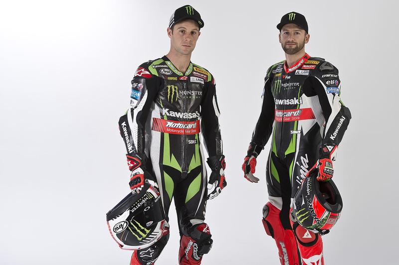 Jonathan Rea et Tom Sykes, Kawasaki Racing