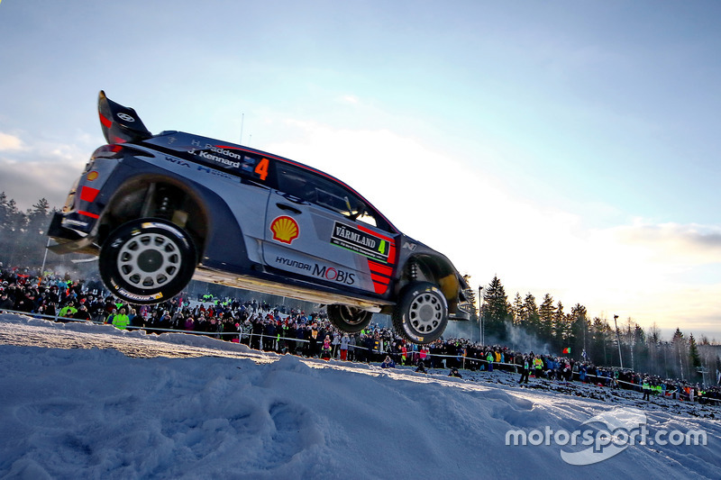 3. Hayden Paddon, John Kennard, Hyundai i20 WRC, Hyundai Motorsport