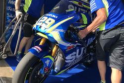 Деталь мотоциклу Андреа Янноне, Team Suzuki MotoGP