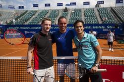 Alexandr Dolgopolov, tenista de la ATP, Maro Engel, Venturi y Nelson Piquet Jr., NEXTEV TCR Formula E Team