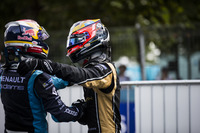 Race winner Sébastien Buemi, Renault e.Dams and second place Jean-Eric Vergne, Techeetah