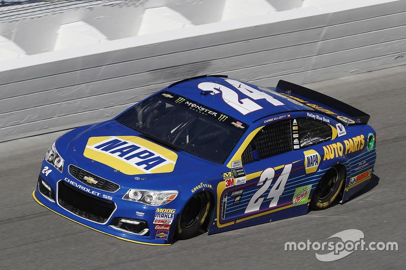 1. Chase Elliott, Hendrick Motorsports, Chevrolet