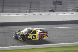 Cody Coughlin, ThorSport Racing Toyota after the crash at last lap