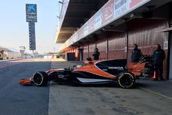 Съемочный день McLaren MCL32