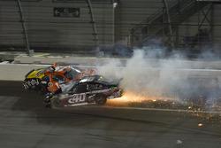 Matt Tifft, Joe Gibbs Racing Toyota, Brandon Hightower, Toyota