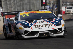 #73 Lamborghini R-EX: Michael Hovey, Daniel Jilesen