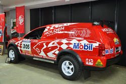 Peter Brock's Dakar car