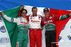 Mexican drivers press conference: Mario Dominguez, Michel Jourdain Jr. and Adrian Fernandez
