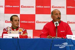 Conferencia de prensa: Michel Jourdain Jr. y Bobby Rahal
