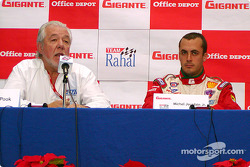 Press conference: Chris Pook and Michel Jourdain Jr.