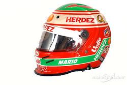 Mario Dominguez's helmet