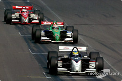 Sébastien Bourdais leads Mario Dominguez and Michel Jourdain Jr.