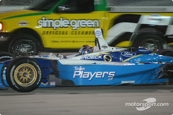 Patrick Carpentier passes Simple Green truck