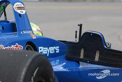 Alex Tagliani still in car