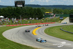 Paul Tracy leads Ryan Hunter-Reay