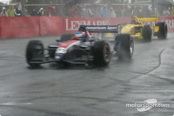 Hail storm starts: Ryan Hunter-Reay