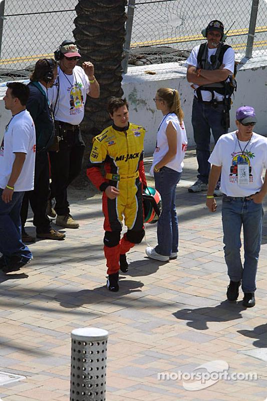 Alex Sperafico est déjà hors-course