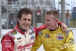Michel Jourdain Jr. and A.J. Allmendinger