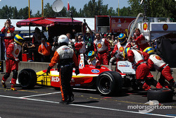 Pitstop for Sébastien Bourdais