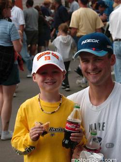 A Coke a smile and a brat
