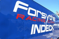 The Forsythe Racing hauler