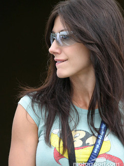Paul Tracy's girlfriend Patricia