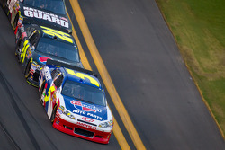 Mark Martin, Hendrick Motorsports Chevrolet and Jeff Gordon, Hendrick Motorsports Chevrolet