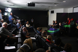 Christian Horner, Red Bull Racing, Sporting Director, Jules Bianchi, Test driver, Scuderia Ferrari, Martin Whitmarsh, McLaren, Chief Executive Officer, Tony Fernandes, Team Lotus, Team Principal, Sir Frank Williams, AT&T Williams, Team Chief, Managing Dir