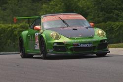 #34 Green Hornet Porsche 911 GT3 Cup: Peter LeSaffre, Jaap van Lagen