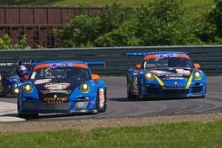 #66 TRG Porsche 911 GT3 Cup: Duncan Ende, Spencer Pumpelly, #68 TRG Porsche 911 GT3 Cup: Dion von Moltke, Mike Piera