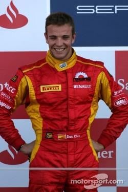 Podium: second place Dani Clos, Racing Engineering