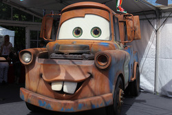 Hook character from the movie Cars 2